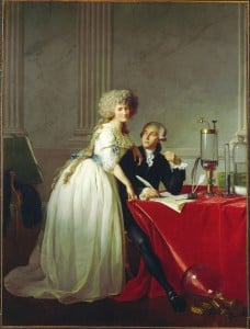 Portrait of Lavoisier & His Wife Marie