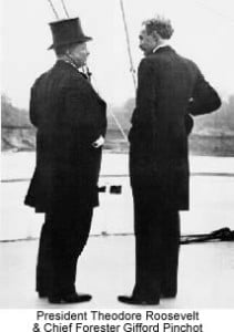 Theodore Roosevelt and Gifford Pinchot