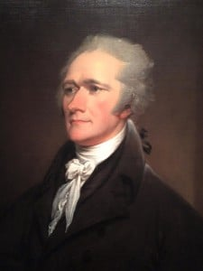 Alexander Hamilton by John Turnbull