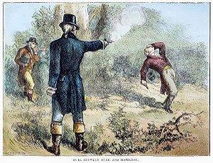 Hamilton Burr Duel